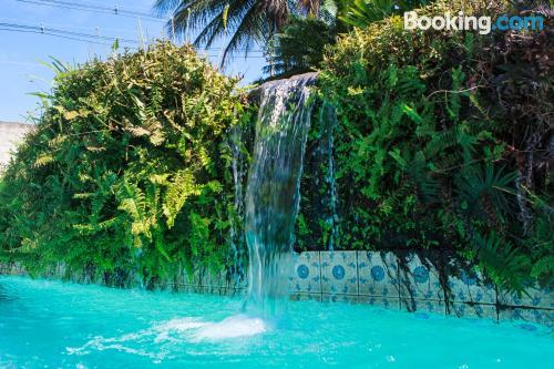 Homey studio with swimming pool