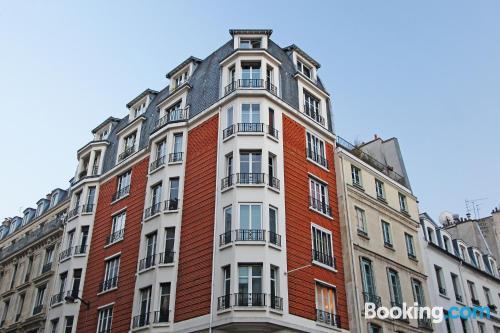 Place in Paris. Amazing location, wifi
