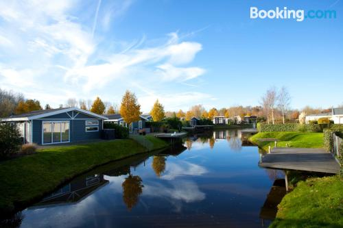 Homey apartment in Velsen-South with terrace and internet.