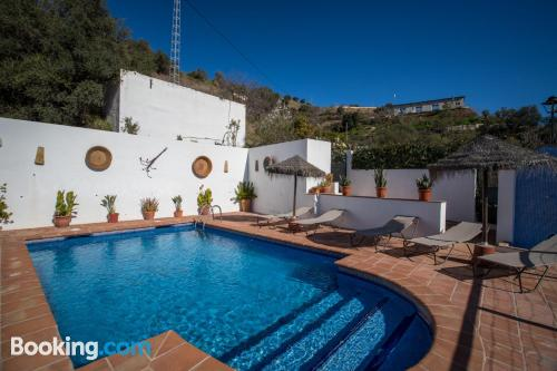 Amazing location and terrace in Almogía. Ideal for six or more