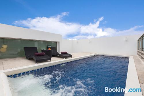 110m2 de apartamento con piscina