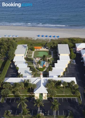 Place for two people in Delray Beach with swimming pool