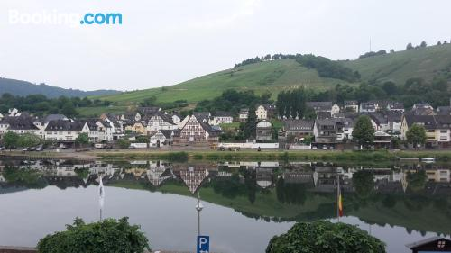 Place for six or more in Zell an der Mosel. Three bedrooms!