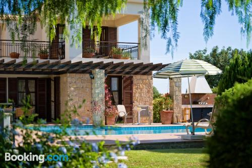 3 bedroom home with swimming pool and terrace