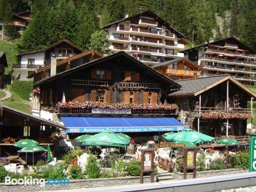 One bedroom apartment in Champex with heat