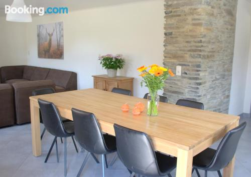 Terrace and internet apartment in Bouillon good choice for families
