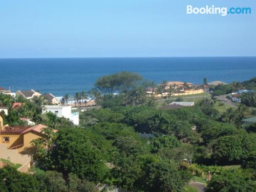 Swimming pool and wifi home in Ballito with terrace