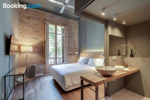 Apartment for 2 in Barcelona. Wifi!