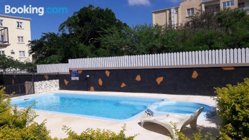 Apartamento con piscina en Flic-en-Flac
