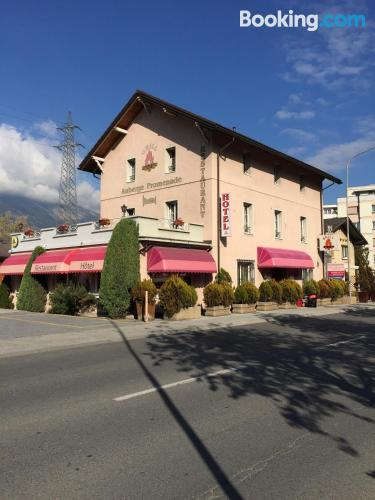 Stay cool: air home in Sierre. Enjoy your terrace