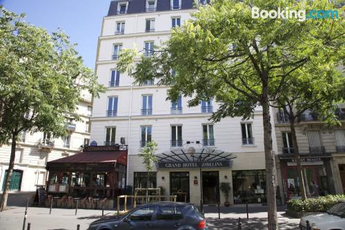 1 bedroom apartment in Paris. Tiny!