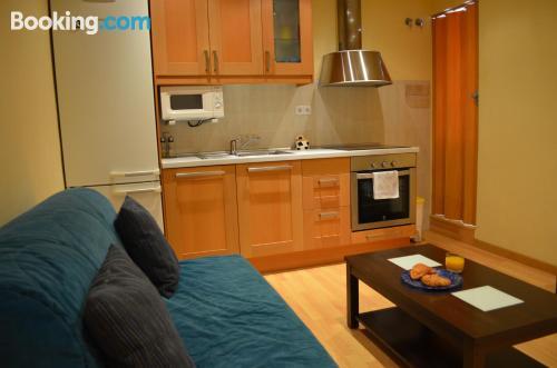One bedroom apartment in Barcelona. Internet!