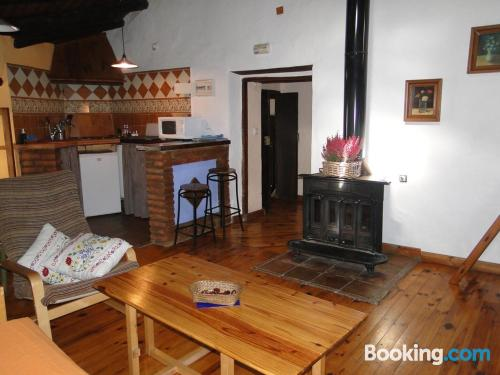 Superb location with air in Fuenteheridos and pool