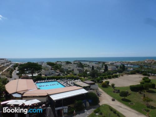 Apartment with terrace. Cap d'Agde at your feet!