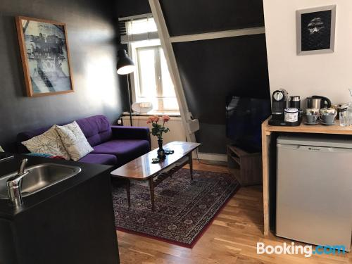 Great one bedroom apartment with heating