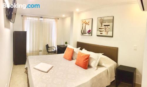 Apartamento con terraza y internet en Villavicencio y aire acondicionado