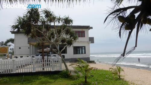 Pet friendly home in Hikkaduwa with terrace
