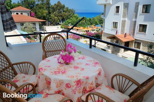 One bedroom apartment in Datca. Terrace!