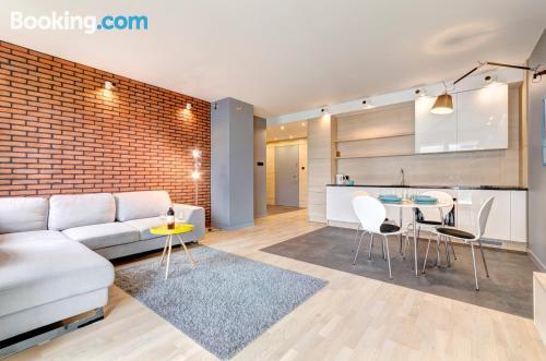 Apartamento apto para mascotas en buena ubicación en Sopot