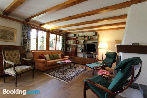 Gran apartamento de dos habitaciones en Chateau-d'Oex