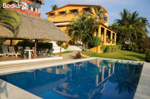 Puerto Escondido place with terrace