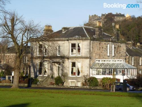 Place for two people in Stirling with heating