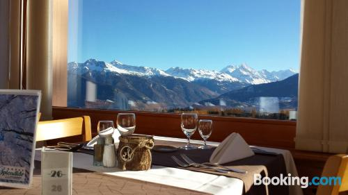 Apartment in Crans-Montana with terrace