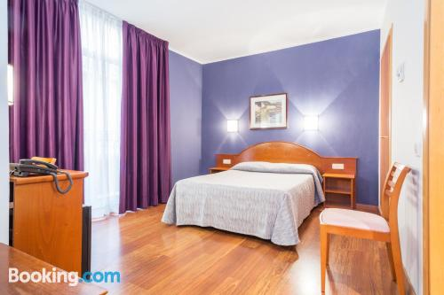 Home for 2 people in Barcelona with internet