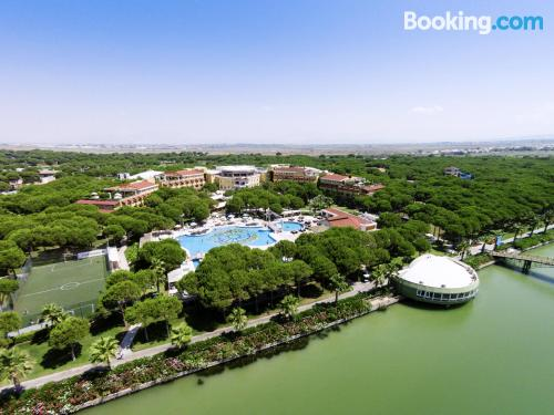 Swimming pool and wifi place in Belek with terrace