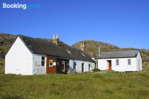 In Achmelvich great for 6 or more
