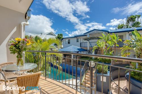 Spacious place in Byron Bay with heating and wifi