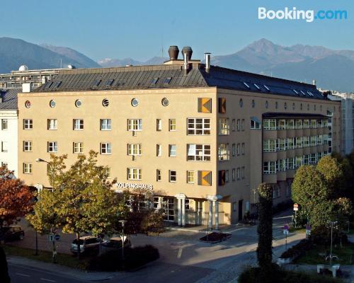 Práctico apartamento dos personas en buena ubicación de Innsbruck
