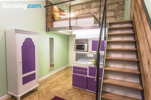 Apartamento de 24m2 en Budapest. ¡Wifi!
