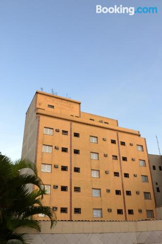 Great 1 bedroom apartment. Be cool, there\s air-con!