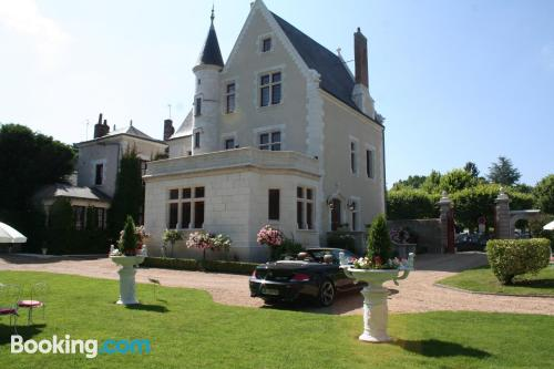 Center with air-con in Amboise and pool