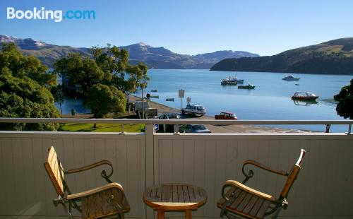 Place in Akaroa. 45m2!