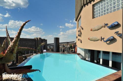 Johannesburg ai vostri piedi!. 48m2!.
