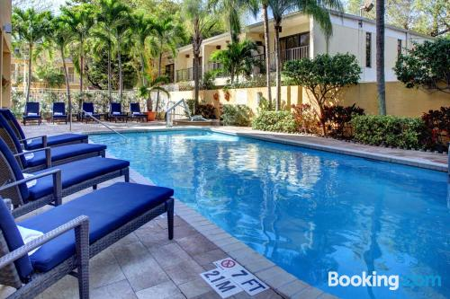 Apartment with wifi. Enjoy your swimming pool in Miami!