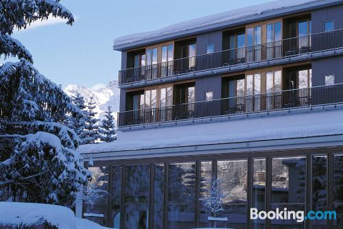 St. Moritz home with terrace