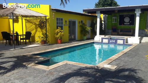 Apartamento con conexión a internet en Oranjestad