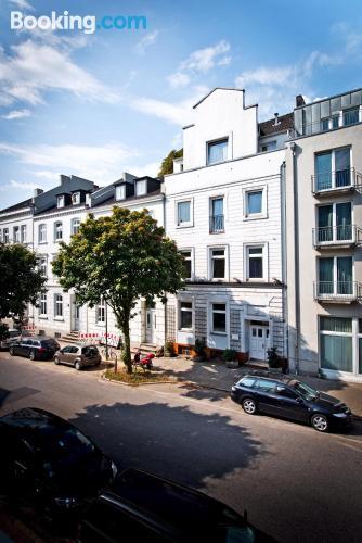 Estudio pequeño en Hamburgo