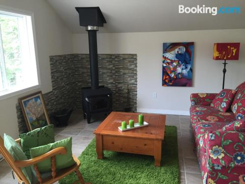 Terrace and wifi place in Val-des-Lacs. 60m2!