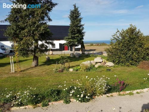 Place for 2 in Kivik. Small!