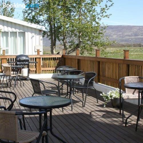Apartment in Akureyri with terrace