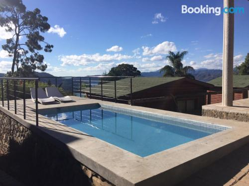Place in Valle de Bravo with swimming pool