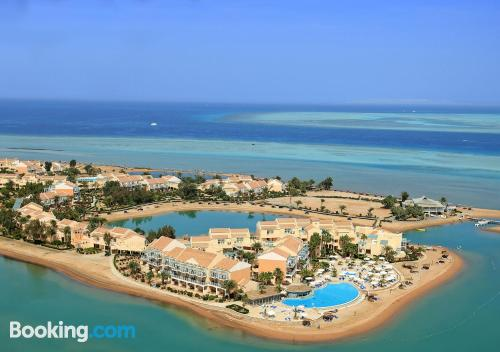 Place for two people in Hurghada. Terrace!