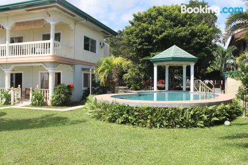 Cozy place in Dumaguete with swimming pool and terrace