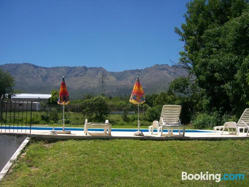 Great location and terrace in Las Rabonas with heating