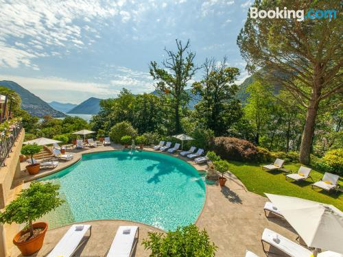 Stay cool: air apartment in Lugano. Pet friendly!