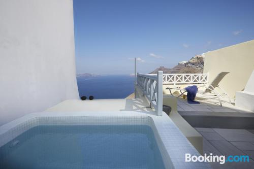 Place with swimming pool for couples
